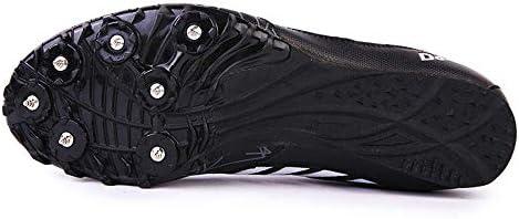 Los Hombres De Pista Y Campo Zapatos, Las Zapatillas De Running Unisex Junior Sprint Spikes No Deslizante Correr Competencia De Formación Especializado Salto De Longitud Zapatos,Negro,36: Amazon.es: Hogar
