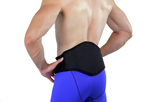 Back-A-Line Dynamic Lower Back Brace Support Belt With Premier BMMI Medical Magnets and Lumbar Pad - Helps Correct Spinal Mechanics and Relief Back Pain (Large 35 - 40)