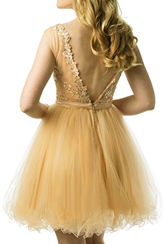 Mini Spitze Braut Kleider Jugendweihe mit mia Kurzes Ballkleider Partykleider Steine Abendkleider Orange La Kleider Cocktail tCOnqFgx