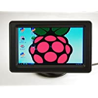 4.3 LCD Display with Composite Input for Raspberry Pi