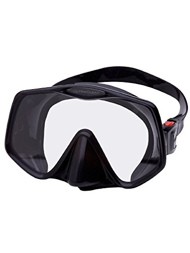 Atomic Frameless 2 Scuba Mask (Black,Medium Fit) - Medium Fit Mask