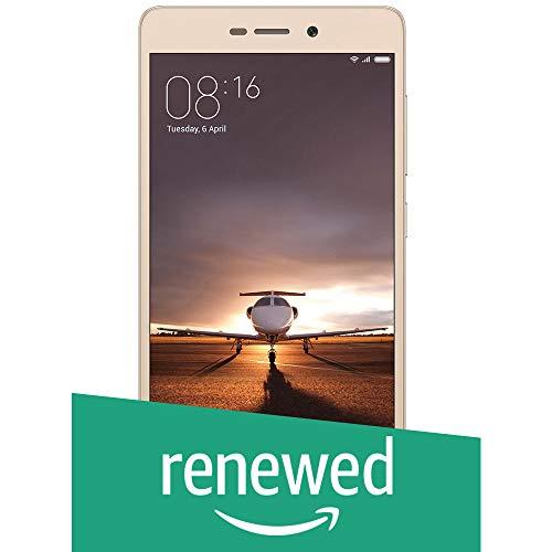 Renewed  Mi Redmi 3S Prime  Gold, 32  GB