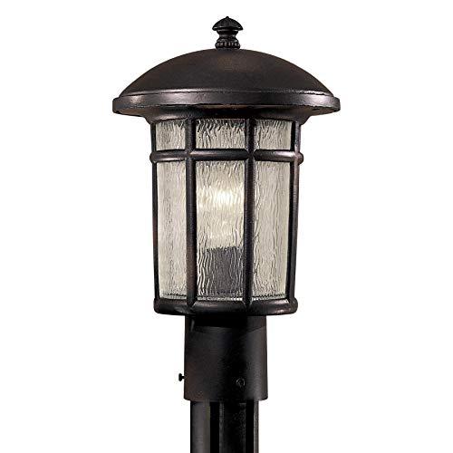 Minka Lavery Outdoor Post Lights 8256-94 Cranston Cast Aluminum Exterior Lighting Fixture, 100 Watts, Heritage