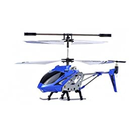 Syma S107 Electric RC Helicopter GYRO RTF (Colors May Vary) USB Charging LED Lights Infrared