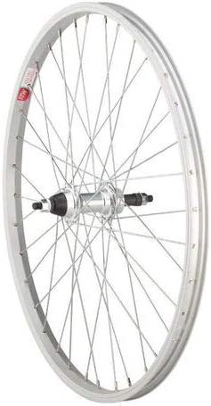 "Sta-Tru Rear 24x1.5/"" Bike Wheel 36H 5//6//7//8-S Freewheel 3//8/"" x 135mm Solid Axle"