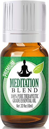 Meditation Blend 100% Pure, Best Therapeutic Grade Essential Oil - (Meditation Aromatherapy)