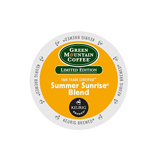 Keurig® K-Cup® Group 18-Count Green Mountain Coffee® Summer Sunrise® Blend