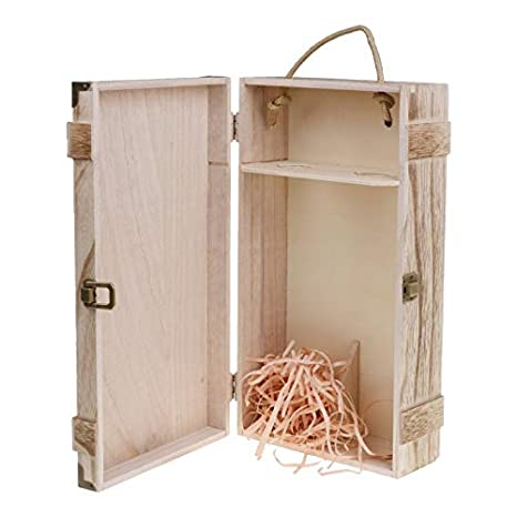 Amazon.com: Goonpetchkrai.rapat - Caja de madera para 2 ...