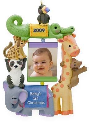 (Hallmark Keepsake Ornament - Baby's First Christmas 2009 Photo Holder (QXG6012))