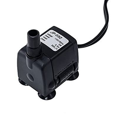 SunSun Submersible Water Pump Aquarium Fish Tank Hydroponic Powerhead USA (JP-032:90 GPH)