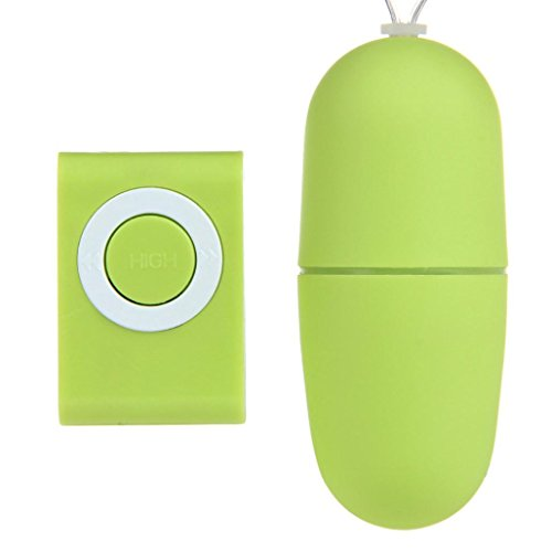 Aritone Fashion Sex Products Waterproof Wireless remote control Shacking Shock Massager Egg Vibrator Adult Sex Toy (Green)