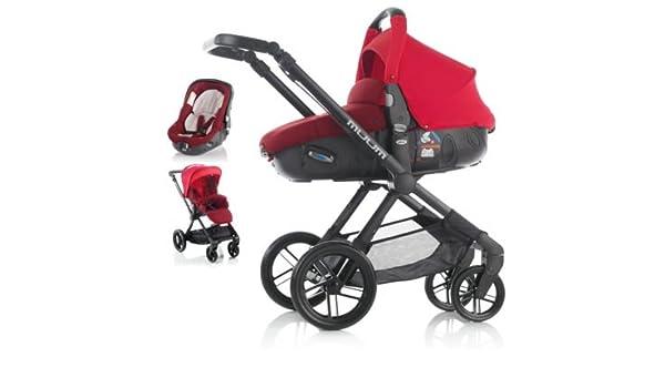 Jane Muum Matriz sistema de viaje (rojo): Amazon.es: Bebé