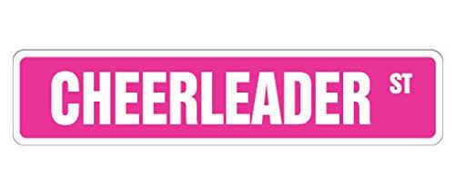 Cortan360 CHEERLEADER Street Sign cheerleading coach team cheer   Indoor/Outdoor   8