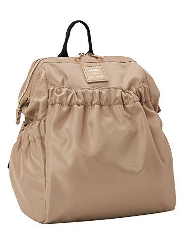 Women Mini Beige Daypack Casual Nylon amp;Kee Girls Backpack Travel Kah for Waterproof nBv8Ppp