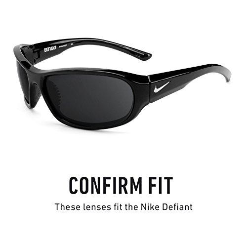Verres de rechange pour Nike Defiant — Plusieurs options Bolt Or MirrorShield® - Polarisés