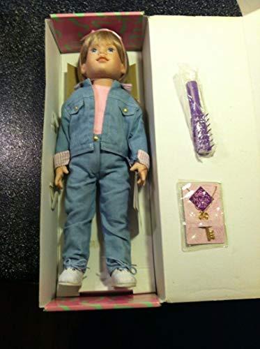"Magic Attic 18"" Doll Alison Doll Brush Key Necklace"