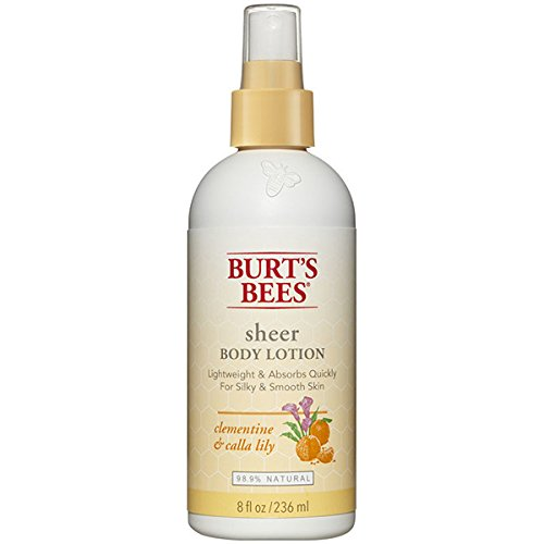 Burt's Bees Sheer Body Lotion - Clementine and Calla Lily - 8 oz (Sheer Body Lotion)