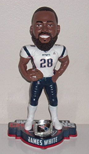 Forever Collectibles James White New England Patriots Super Bowl LI Bobblehead NFL