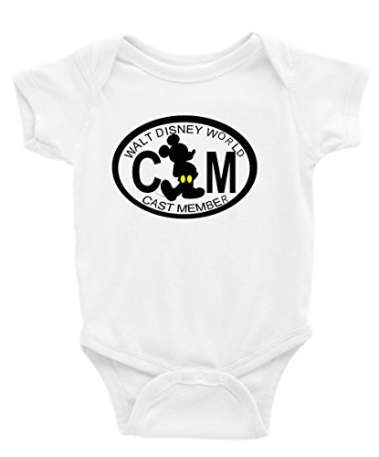 Disney Cast Member Short Sleeve Unisex Onesie (Disney Cast Member)