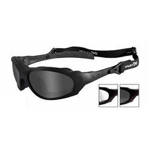 3259e1928a887 Wiley X XL-1 Advanced Smoke Grey Clear Lens Matte Black Frame