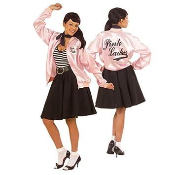 Chaqueta Colour rosa de lunares Mujer 50er 70er OLIVIA T ...