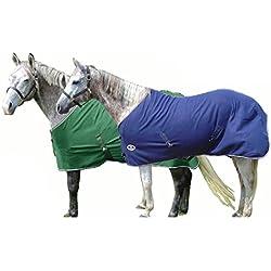 """Derby Originals Classic Horse Fleece Sheet/Blanket Liner, 75"""", Navy"""