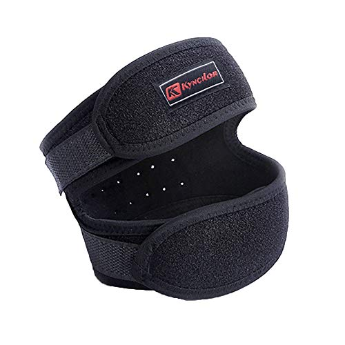 Hanesy Knee Support Strap, Patella Brace For Arthritis, Joint Pain Relief, Tendon Brace Stabilizer, Shock Absorption Exercise Knee Protection, Outdoor Riding Fitness Gear, Adjustable Strapping