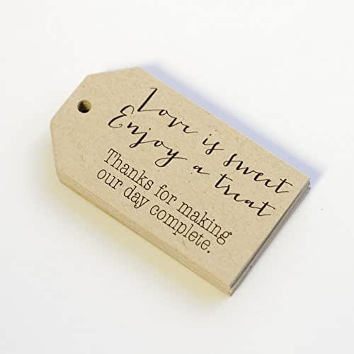 Amazon Wedding Gift Tags : ... favor tags love is sweet enjoy a treat tags wedding sweets favor tags