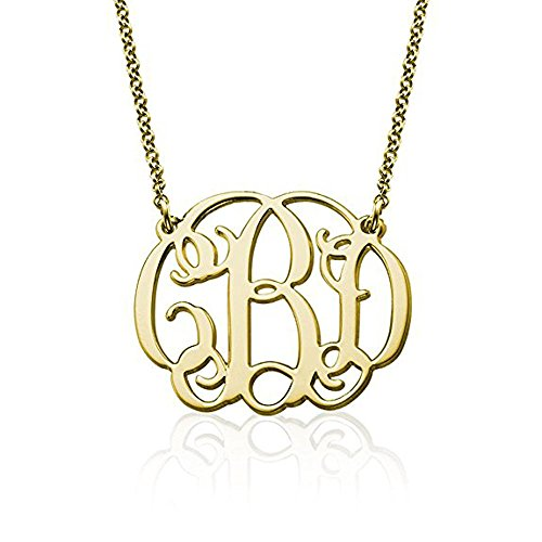 Stan-Deed Personalized 3 Initial Monogrammed Custom Handcrafted with Your Initials