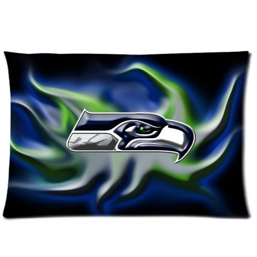 Basidfs Simple Happiness 2030inch NFL Cotton Pillow - Pillowcase Nfl
