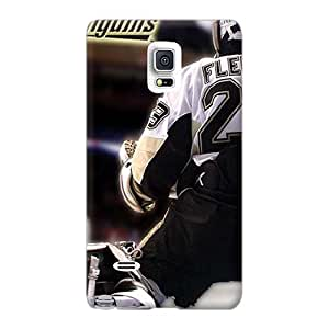 Scratch Protection Hard Phone Cases For Samsung Galaxy Note 4 With Custom Stylish Pittsburgh Penguins Marc Andre Fleury Image RandileeStewart