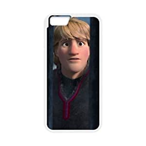 iPhone 6 4.7 Inch Cell Phone Case White Disney Frozen Character Kristoff 004 YWU9288554KSL