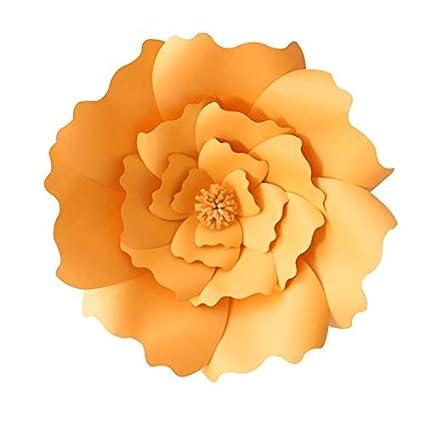 Amazon Com Shinebear Diy Paper Flowers Backdrop Artificial Flower