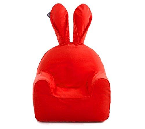 Rabito Infant Kids Children Sofa Chair Small Cream White + C