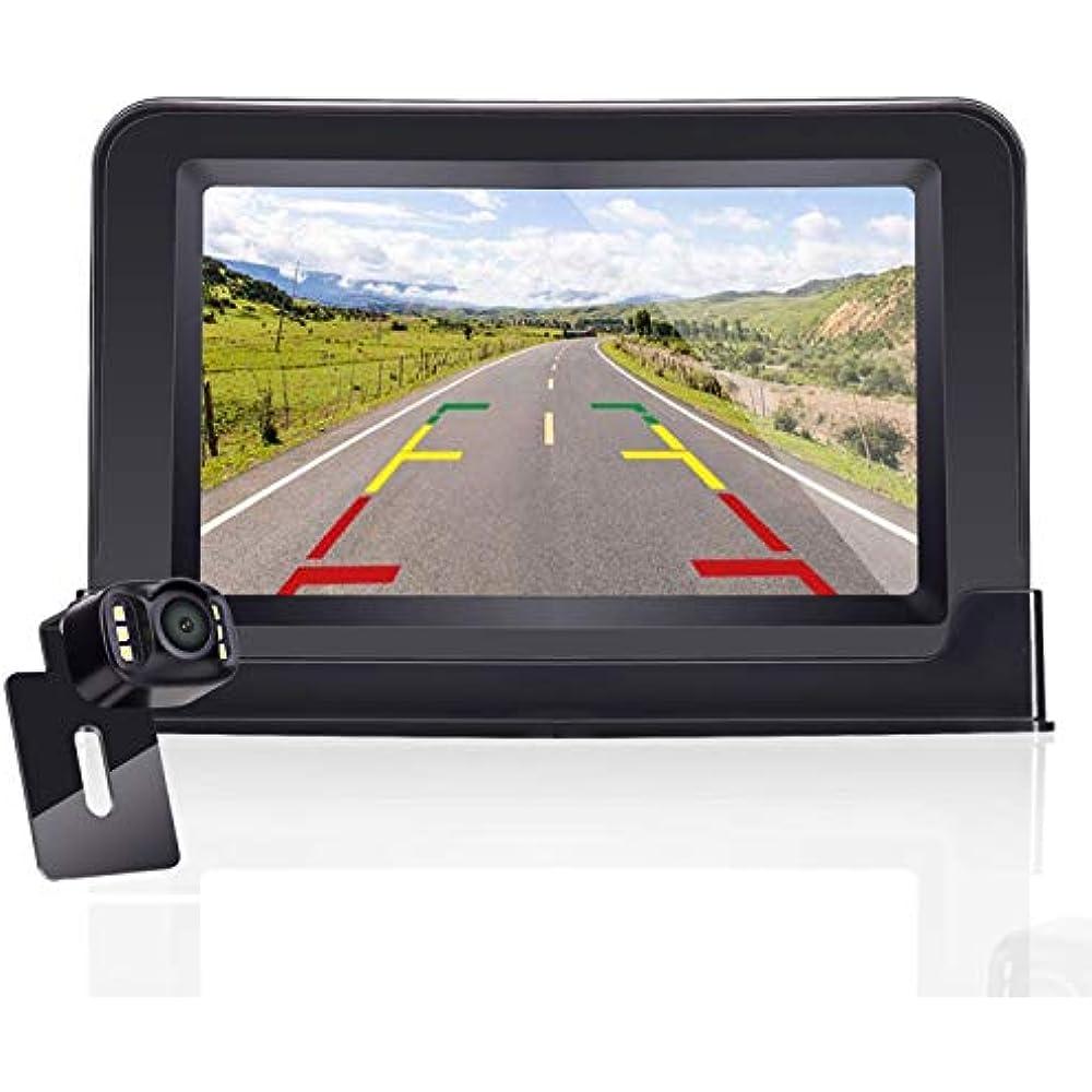 ZSMJ Backup Camera and Monitor Kit For Car//Suv//Pickup//Truck//Van//RV//Trailer