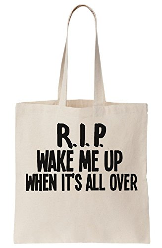 Up Me All Bag When Rip Canvas Wake Tribute Tote It's Over nAYdwxq5