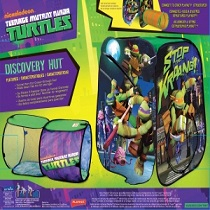 Product description  sc 1 st  Amazon.com & Amazon.com: Playhut Teenage Mutant Ninja Turtles Adventure Hut ...
