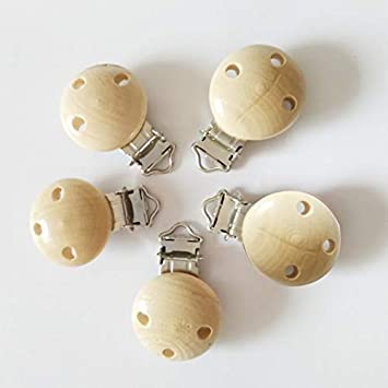 5pcs//lot Baby Pacifier Clip Holder Infant Dummy Clips For Baby Clasps Holders