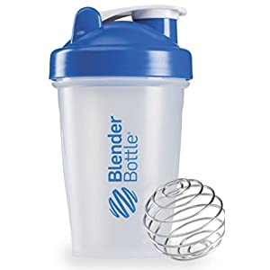 20 OZ. Blender Bottle Classic Shaker Cup with Loop Top ALL COLORS (Blue)