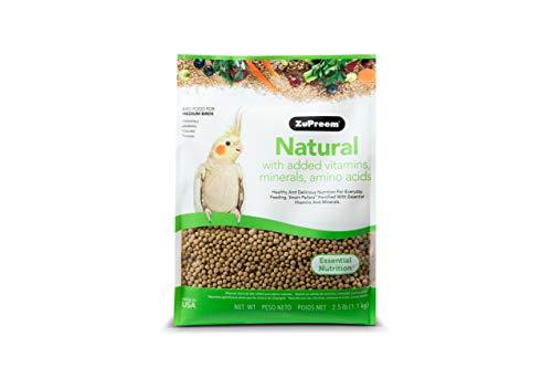 ZuPreem – Alimento para Aves Natural   Pienso Agapornis y Ninfas – 1,13 kg