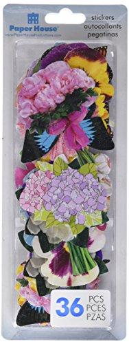 PAPER HOUSE SelfAdhesive Garden Die-Cuts (36 Pack) ()