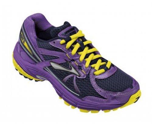 Brooks Adrenaline Gts G Mädchen Laufschuhe violett - gelb