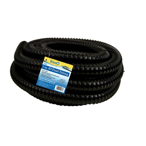 TetraPond Pond Tubing, 1-Inch Diameter, 20-Feet (Length Water)
