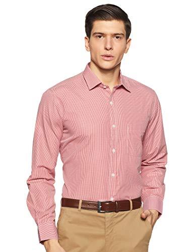 Excalibur Men's Solid Regular fit Formal Shirt