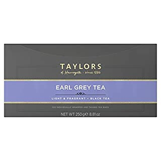 Taylors of Harrogate Earl Grey, 100 Count (Pack of 1)