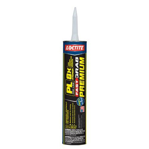 (Loctite PL Premium Fast Grab Polyurethane Construction Adhesive 10-Ounce Cartridge (1417170))