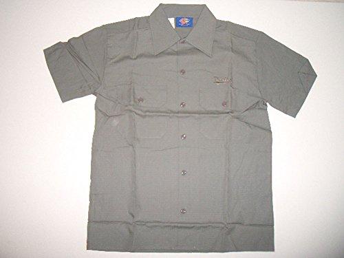 Dickies Hemd Kurzarm Grau Größe Medium