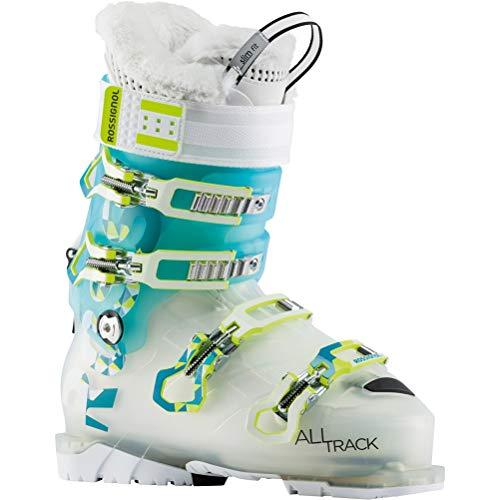 Rossignol Womens Ski Boots - Rossignol AllTrack Pro 80W Womens Ski Boots - 25.5/Transparent Mint