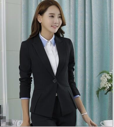 check out 11447 3ed80 THk&M Dame Damen Blazer Anzug Winter professionelle Damen ...