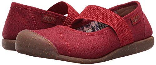 KEEN Canvas 5 Shoe M Red Hiking Dahlia Sienna Women's US MJ wtrqwa8